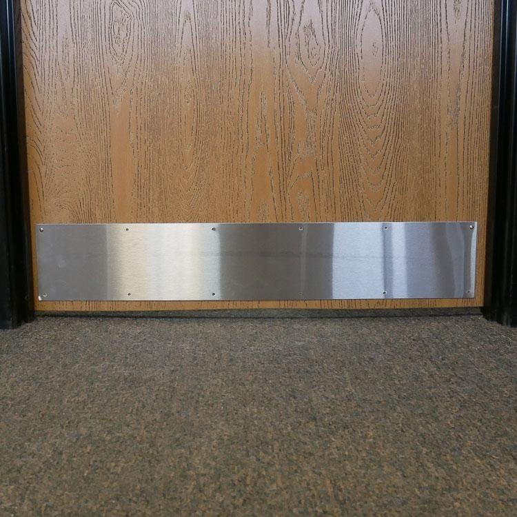 Stainless Door Push Plate 12 x 3